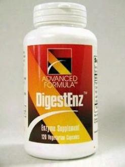 Advanced Formula Enzyme's Digestenz 120 Vcaps