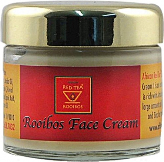 African Red Tea Imports Face Cream Rooibos 1.3oz