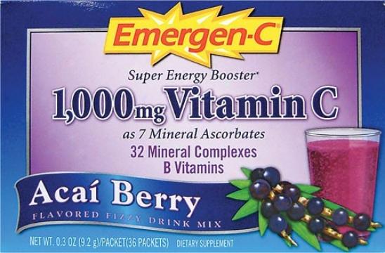 Alacer's Emergen-c Acai Berry 30pkt