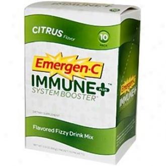 Alacer's Emergen-c Immune + Citrus 10pkt
