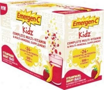 Alacer's Emergrn-c Kidz Multi-strwn 30pkt