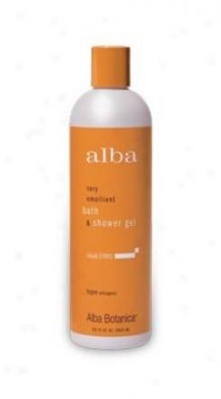 Alba's Bath Gel Island Cittus 12oz