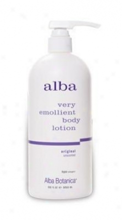 Alba's Body Lotion Oruginal Unscented 32oz