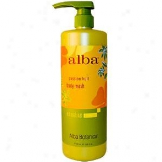 Alba's Body Wash Hawaian Zeal 24oz