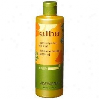 Alba's Hair Wash Hawaiian Gardenia Hydrating 12oz
