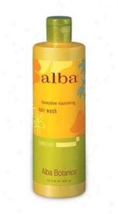 Alba's Hair Wash Honeydew Nourishing 12oz