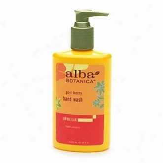 Alba's Hand Wash Goji Berry 8oz