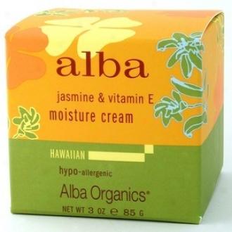 Alba's Hawaiian Jasmine & Vitamon E Moisture Cream 3oz