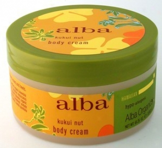 Alba's Hawaiian Kukui Nut Body Cream 6.5oz