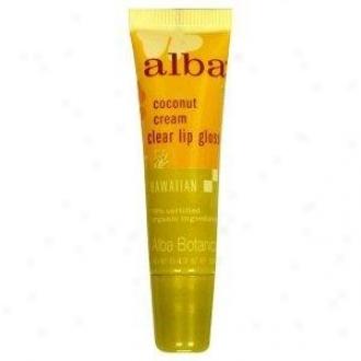 Alba's Edge Gloss Coconut Cream Serene 0.42oz
