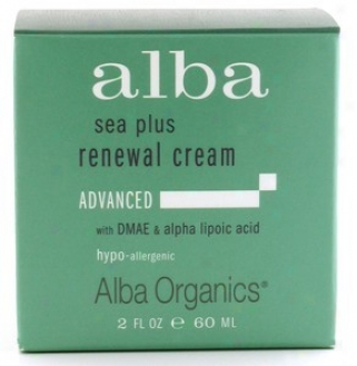 Alba's Sea Plus Renewal Cream 2oz