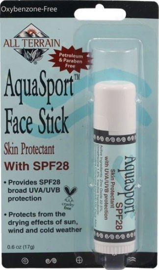 All Terrain's Aquasport Face Stick .6oz