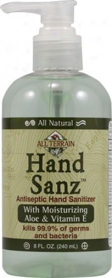 All Terrain's Hand Sanitizer Aloe & Vitamin E 8oz