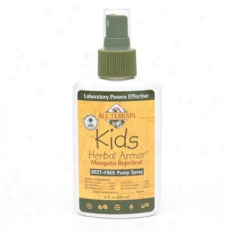 All Terrain's Herbal Armor S0ary Kids 4oz
