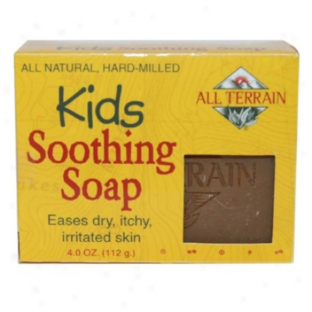 All Terrain's Kids Soothing Soap 4oz
