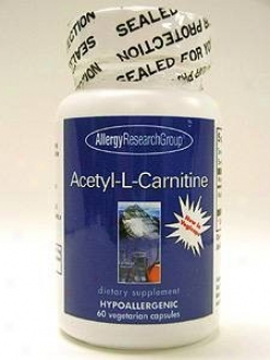 Allergy Research's Acetyl-l-caenitine 250 Mg 60 Vcaps