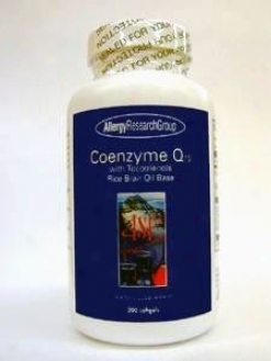 Allergy Research's Coq10 W/ Tocotrienols 100 Mg 200 Gels