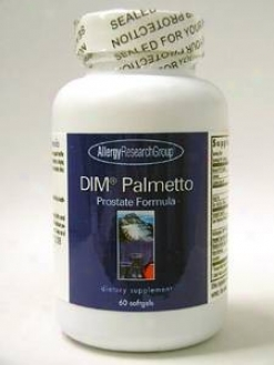Allergy Research's Dim Palmetto Prostate Formula 60 Gels