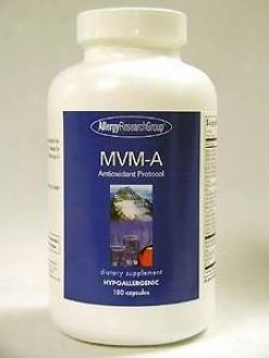 Allergy Research's Mvm-a 180 Caps