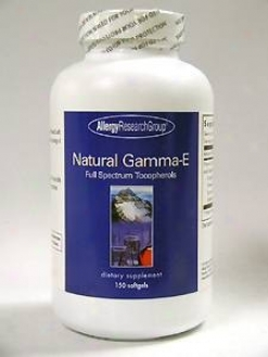 Allergy Research's Natural Gamma-e 150 Slftge
