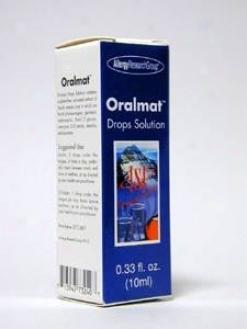 Allergy Research's Oralmat Drops 0.33 Oz