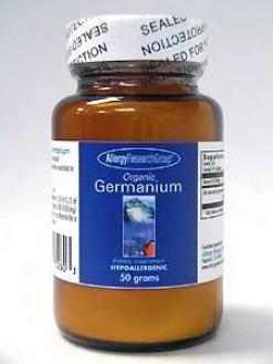 Allergy Research's Organic Germanium Powder 50 Gm