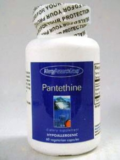 Allergy Research's Pantethine 600 Mg 60 Vcaps