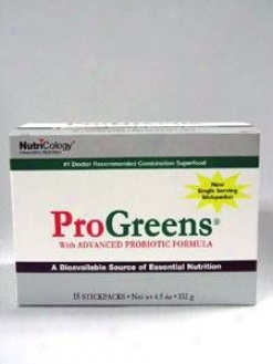 Allergy Research's Progreens Stickpacks 15