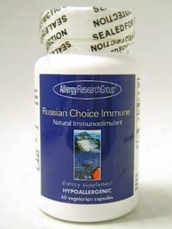 Allergy Research's Russian Choice Immune 25 Mg 60 Vcaps