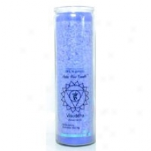 Aloha Bay's Candle Chakra Jar Unscented Blue 17oz