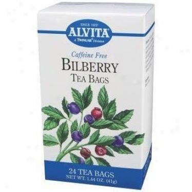 Alvita Tea's Bilberry Tea 24bags