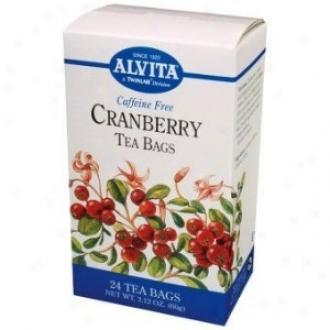 Alfita Tea's Cranberry Tea 24bags