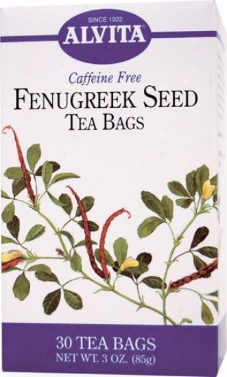 Alvita Tea's Fenugreek Seed Infusion  30bags