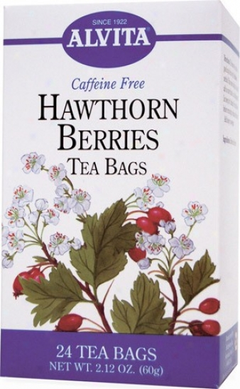 Alvita Tea's Hawthorn Berries Tea 24bags