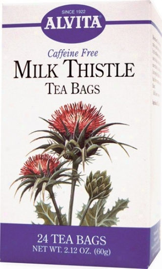 Alvita Tea's Milk Thistle Tea 24bags