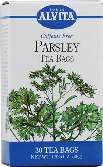Alvita Tea's Parsley Tea 30bags