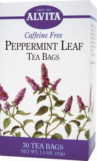 Alvita Tea's Peppermint Leaf Tea 30bags