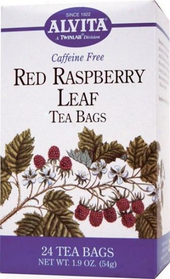 Alvita Tea's Red Raspberry Leaf Tae 24bags