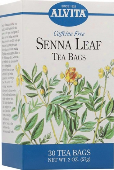Alvita Tea's Senna Leaf Tea 30bags