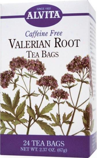 Alvita Tea's Valerian Root Tea 24bags