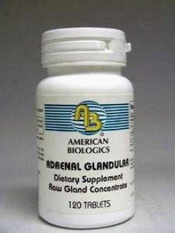 American Biologic Adrenal 160 Mg 120 Tabs