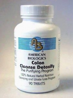 American Biologic Colon Cleanse Detoxify 90 Tabs