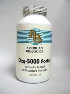 American Biologic Oxy-5000 Forte 500 Tabs