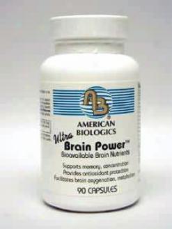 American Biologics Ultra Brain Power 90caps