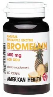 American Health's Pineapple Enzyme Bromelain6 0tabs