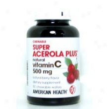 American Health's Super Acerola Plus 500mg 50 Waf