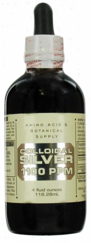 Amino Acids & Botanical's Amino Silver Coll 1100pm 4oz