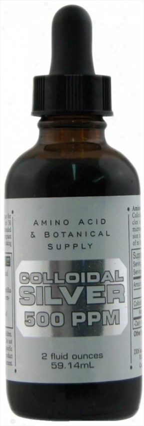 Amino Acids & Botanical's Amino Silver Coll 500ppm 2oz