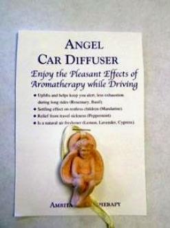 Amrita Aromatheraphy's Angel Car Diffuser 1 Diffuser