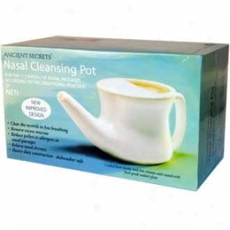 Ancient Secret'w Nasal Cleansing Pot 1pc